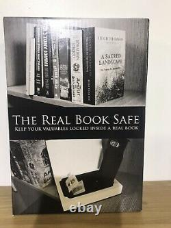 Real Book Safe Secret Hidden Cash Security Box Lock Stash Keys