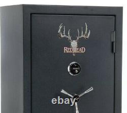 Redhead Gun Safe 23/25 capacity gun safe. Includes webbing on the inner door