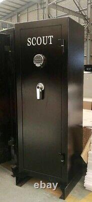 SCOUT 18 Long Gun Fireproof Safe 40 mins. 1400F Electronic Lock Back Up Keys
