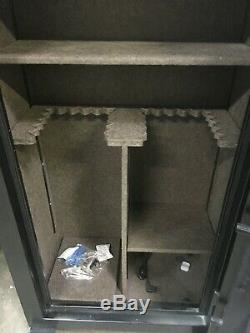 SCOUT 28 long gun fireproof safe electronic lock withbackup key 45 mins fire