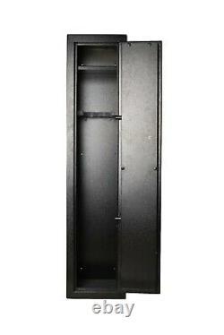 SCOUT Quick Access Biometric Rifle Safe Gun Cabinet Gun Locker