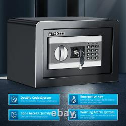 S Small Safe Box Safety Lock Digital For Home Security Office Strong Metal USA