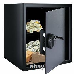 Safe Box Fingerprint Safes Recognition System Lock Safety Boxe Money Anti-Theft