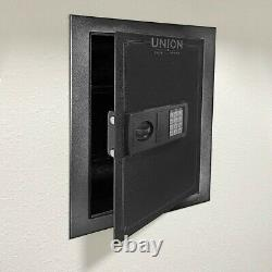 Safe Digital Wall Mounted Security System Dual Lock Box Home Safe Security