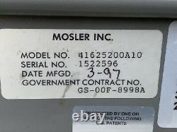 Safe Heavy Duty Mosler GSA 5 Drawer File Cabinet Combination Lock 600 Lbs
