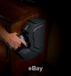 Safe Storage Gun Compartment Hidden Firearm Pistol Vault Home Security Desk