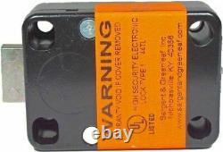 Sargent & Greenleaf Digital Safe Lock Kit With Black Keypad S&G 6120-303