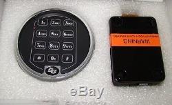 Sargent and Greenleaf S&G 6120-305 Digital Keypad Safe Lock Replacement Chrome