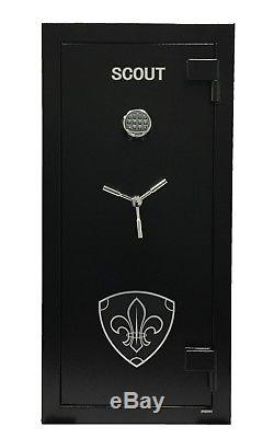 Scout Fire Proof Gun Safe UL listed High Security Electronic Lock Door Organizer