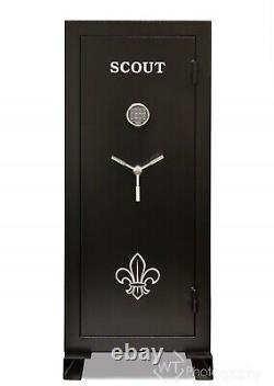 Scout Gun Safe 60 mins. Fire Rated Programmable Electronic Lock and back up keys