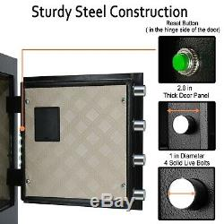Security Digital Safe Combination Cash Box Lock Safety Gun, Cash, Jewelry