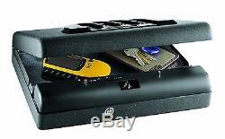 Security Lock Box Pistol Handgun Gun Portable Vehicle Storage Lockbox Safe Cash