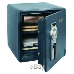 Security Lock Box Steel Safe Home Office Document Money Vault Stash Fireproof