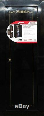 Sentinel 18-Gun Security Cabinet Safe Rifle Shotgun Firearms Storage Locker