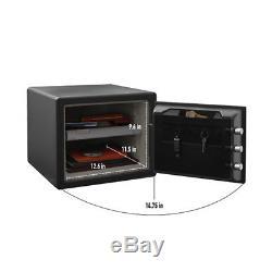 SentrySafe 0.81 Cu. Ft. Digital Combination Lock Water & Fireproof Security Safe