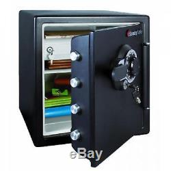 SentrySafe Fire-Safe 1.2-Cu. Ft. Water-Resistant Safe with Combination Lock