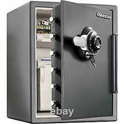 SentrySafe Fire Safe Combination Lock, 2.05 Cu. Ft. Capacity, Gray