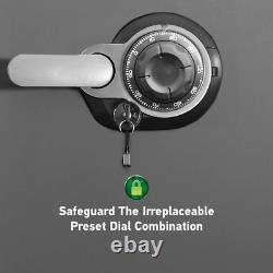 SentrySafe Home Safe 2.0 cu ft Fireproof Waterproof Combination Keyed Lock Steel