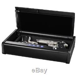 SentrySafe Pistol Safe, Quick Access Gun Safe, Two Pistol Capacity, QAP2E XL
