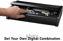 SentrySafe QAP2E Digital Pistol Safe, Two Handgun Capacity 2 Gun Capacity
