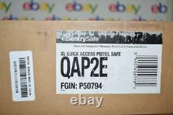 SentrySafe QAP2E Digital Pistol Safe Two Handgun Capacity NIB