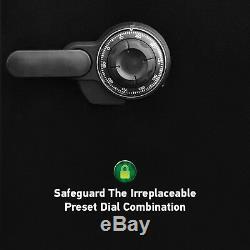 SentrySafe Security Combination Lock Box Gun Cash Home Safe 1.23 Cu Ft Fireproof
