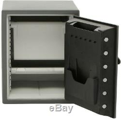 SentrySafe Steel Security Safe Fire Water Resistant Dual Combination Key Locks