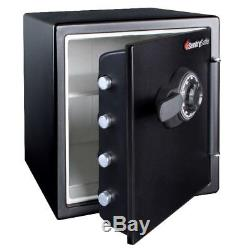 SentrySafe Waterproof and Fire Resistant Fireproof Combination Safe Lock Box