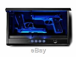 Sentry Safe 2 Lock Gun Pistol Safe Storage Quick Access Electronic Combination