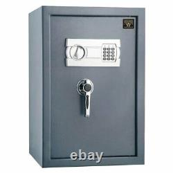 Sentry Safe Electronic Lock Box Large Fire Home Office Security Steel Fireproof