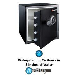 Sentry Safe Fireproof Security Combo Lock Box Home Money Gun Protection 1.2 CuFt
