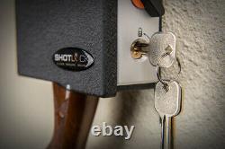 Shotlock Shotgun 200M Mechanical Lock withKey Override Solo-Vault Safe S-SSV200M