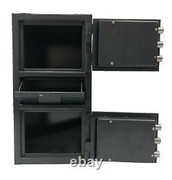 Southeastern Double Door Money Drop Depository Safe LCD Electronic Lock