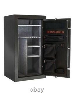 Sports Afield 30-Gun Fire/Waterproof Steel Safe