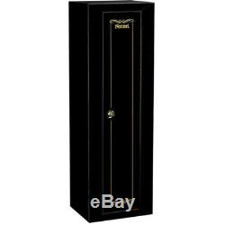 Stack-On 10 Gun Security Cabinet- Rifle Storage Locker Key Coded Safe Steel