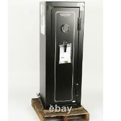 Stack-On 14 Gun Fire Rated Safe with Electronic Lock, Matte Black