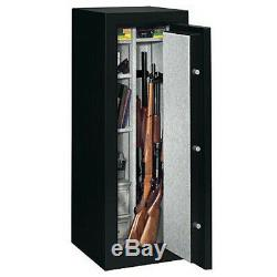 Stack-On 14 Gun Fire Resistant Security Safe with Electronic Lock FS-14-MB-E, M