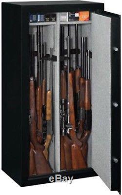 Stack-On 22 Gun Safe With Combination Lock Matte Black