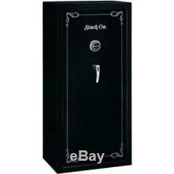 Stack-On 22 Gun Safe with Combination Lock Matte Black Security Cabinet Rifle