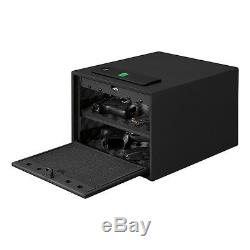 Stack-On QAS-1512-B Quick Access Safe with Biometric Lock