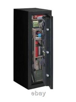 Stack-On, fireproof, Armorguard 18 Gun Safe with Electronic Lock Black