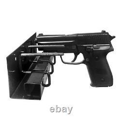 Stealth Biometric Handgun Hanger Safe Quick Access Pistol Security Gun Box