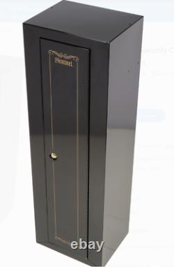 Steel Gun Safe Cabinet 10 Rifles Security Storage Locker Shelf Shotgun Pistol