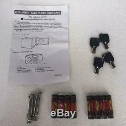 Steel Safe Box Digital Electronic Keypad Lock Security Home Office Hotel Gun