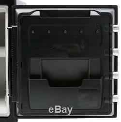 Steel Safety Vault Waterproof Fire Resistant Dial Key Lock Combination Storage