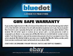 Steel Security Gun Safes Rack for firearm Pistol Rifles with Digital Lock 593625