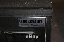 Truck Vault Ford Explorer Interceptor 2011 3rd Row Safe Drawer