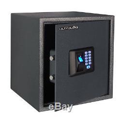 Us36 Biometric Fingerprint Safe Combination Password Lock Gun Vault Office Home