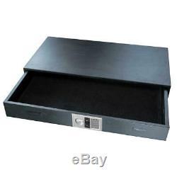Under Bed Steel Gun Safe with Digital Keypad, 7 Tall 46 Interior Rifle Firearm