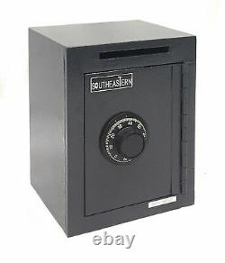 Under Counter Steel Cash Drop Slot Safe Box with Combination Lock